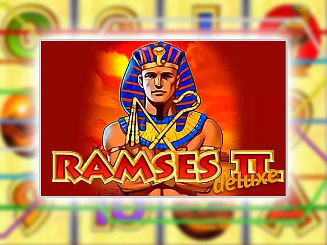 В игровой слот Ramses Ii Deluxe играть бесплатно