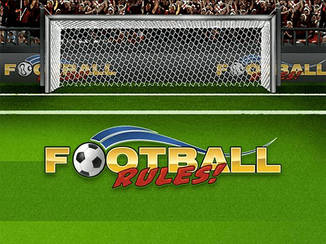 В игровой слот Football Rules! играть бесплатно