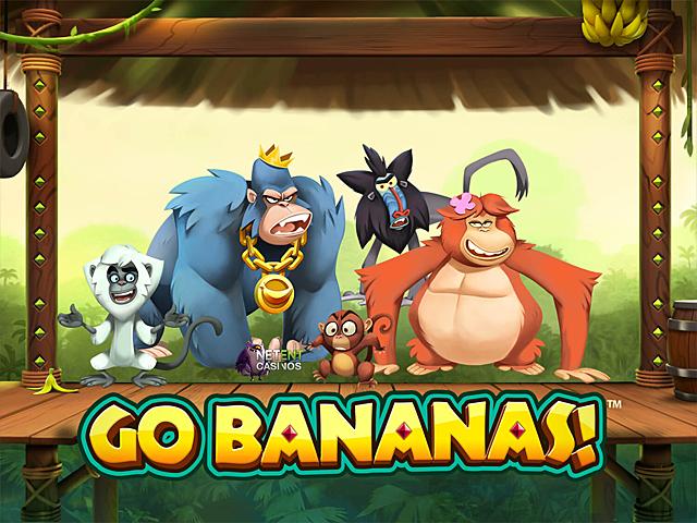 Онлайн казино предлагает играть на деньги в автомат Вперед Бананы