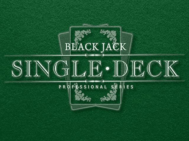 Single Deck Blackjack Professional Series - GMSlots Deluxe слоты